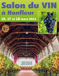 Honfleur salon du vin au pays du cidre la gazette des salons for Salon du vin champerret