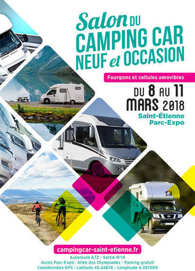 salon du camping car de saint etienne