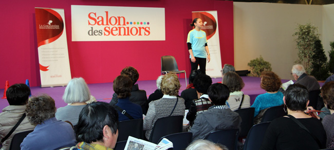 Salon des seniors de paris la gazette des salons for Salon seniors