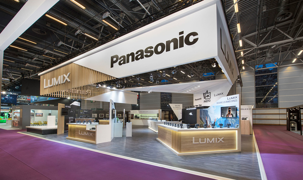 stand PANASONIC by ACTIVISE