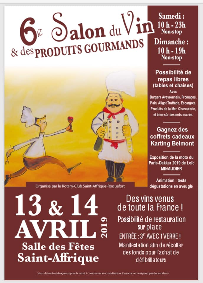 salon vins gourmands saint affrique