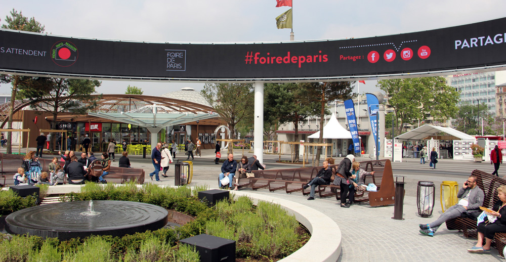Paris expo porte de versailles modernisation de la for Porte de versailles salon renovation