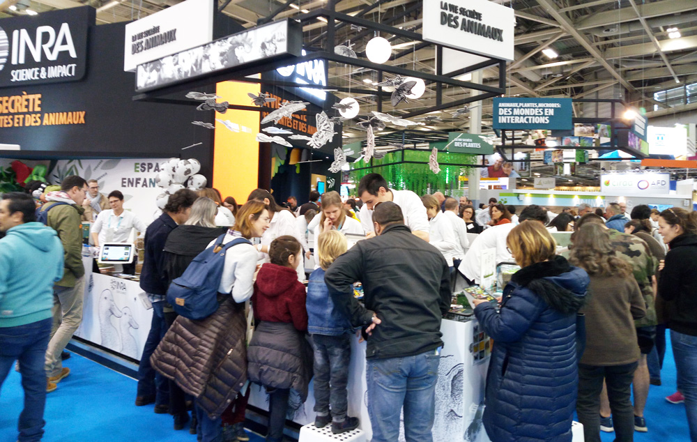 stand INRA salon agriculture